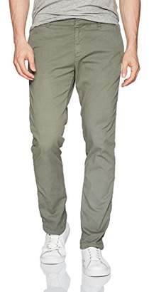 Velvet by Graham & Spencer Men's Sammi Cassically Tailored Pants in Cotton Twill