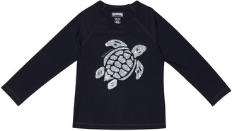 Vilebrequin Kids Glassy printed rash guard