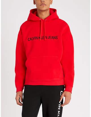 CK Calvin Klein Institutional fleece hoody