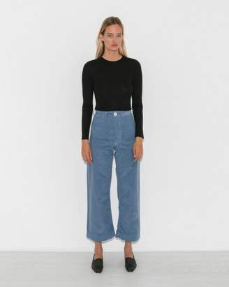 Jesse Kamm Pencil Blue Sailor Pant