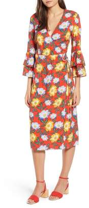 The Fifth Label Reunion Floral Wrap Dress