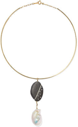 Cvc Stones Sugar And Spice 18-karat Gold Multi-stone Choker