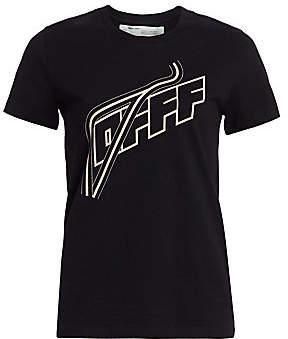 Off-White Women's Logo Cotton T-Shirt