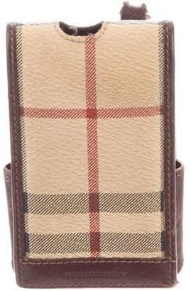 Burberry Vintage Haymarket Check Phone Case