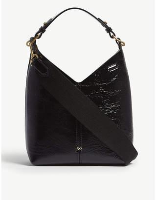 Anya Hindmarch Build A Bag Mini leather hobo bag