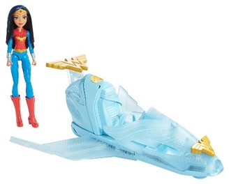 DC Super Hero Girls Wonder Woman Action Doll and Invisible Jet $39.99 thestylecure.com
