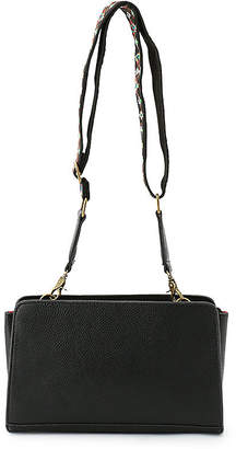 A. T (エー ティー) - エーティー 幾何学柄ショルダーベルト付きバッグ
