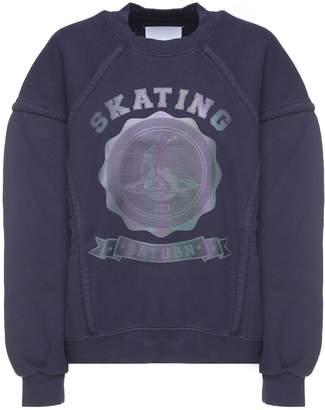 Maison Margiela Skating Saturn Cotton Sweatshirt
