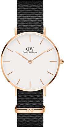 Daniel Wellington Classic Petite NATO Strap Watch, 32mm