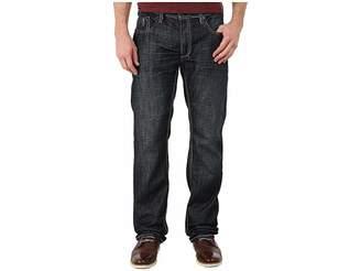 Buffalo David Bitton Driven Basic Straight Jeans in Dark Worn Out Men's Jeans