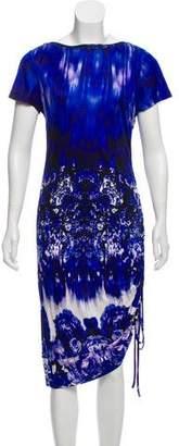 Jean Paul Gaultier Soleil Abstract Midi Dress