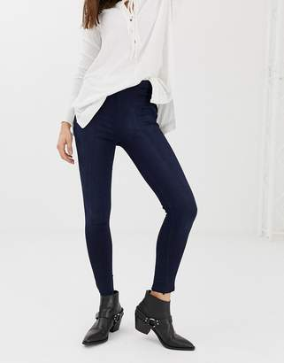 Free People Seamed skinny jeans