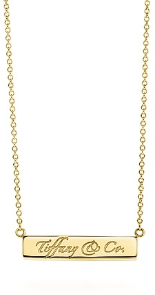 Tiffany Notes Tiffany & Co.® bar pendant