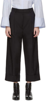 3.1 Phillip Lim SSENSE Exclusive Black Wide-Leg Trousers
