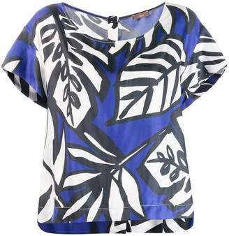 Altea palm print blouse