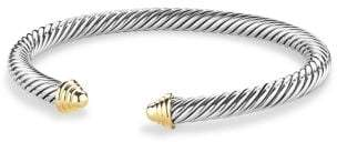 David Yurman Cable Classics Bracelet With 14K Gold, 5Mm