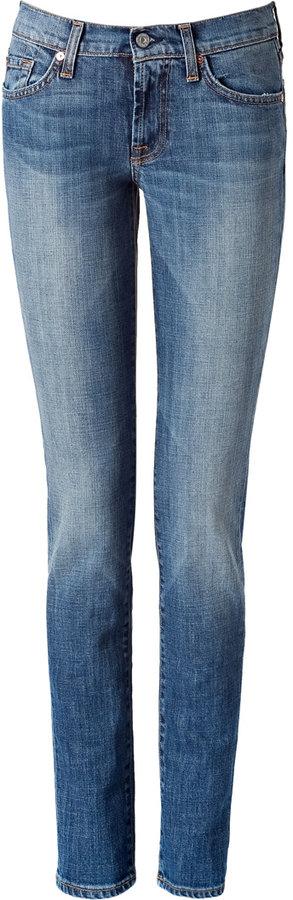 Seven for all Mankind Roxanne New York Medium Skinny Jeans