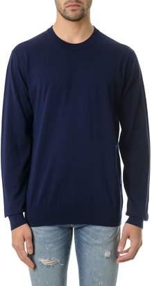 Dolce & Gabbana Blu Cotton Ribbed Knit