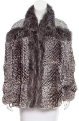 Hockley Embellished Fur Jacket