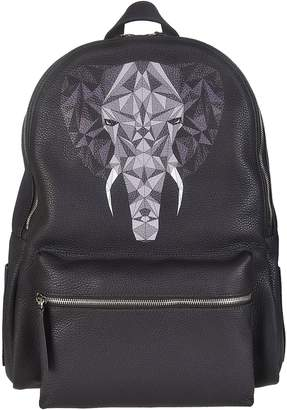 Orciani Printed Backpack