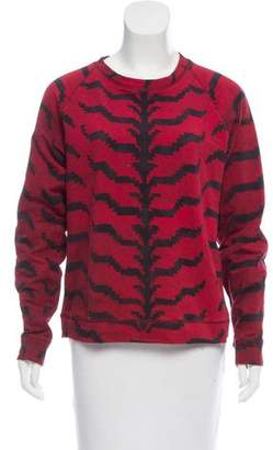 Altuzarra Printed Pullover Sweatshirt