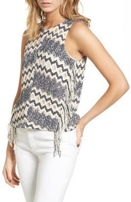 Women's Ella Moss Alexandria Sleeveless Sweater $168 thestylecure.com