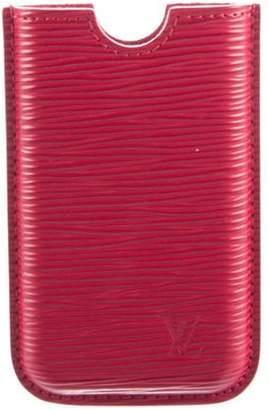 Louis Vuitton Epi iPhone 4 Case red Epi iPhone 4 Case
