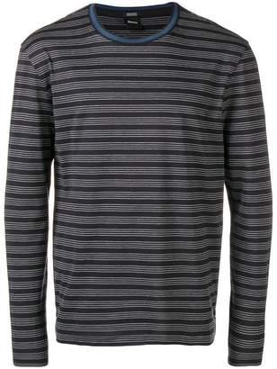 HUGO BOSS striped sweatshirt
