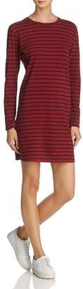 Current/Elliott Bea Stripe Tee Dress $158 thestylecure.com