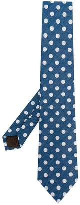 Church's polka dot tie
