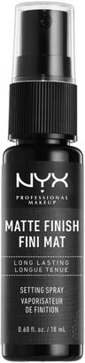 Nyx Professional Makeup Makeup Setting Spray Mini - Matte