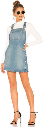 Free People Louise Denim Skirtall.