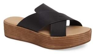 Matisse Masters Cross Strap Platform Sandal