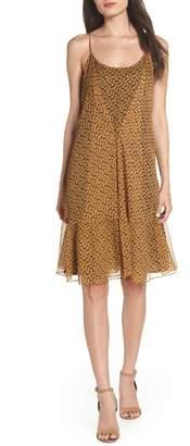 LENON Floral Chiffon Tank Dress