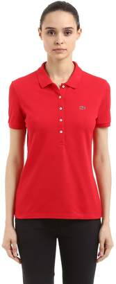 Lacoste Stretch Cotton Piqué Polo Shirt