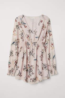 H&M MAMA Patterned Blouse - Pink