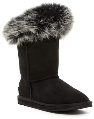 Australia Luxe Collective Foxy Short Genuine Fox Fur Boot