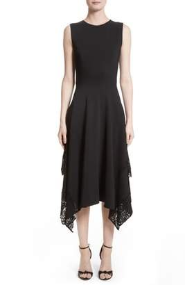 Altuzarra Lace Hem Midi Dress