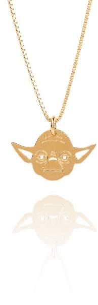 Styleserver DE Malaika Raiss STAR WARS(TM) Halskette Yoda vergoldet