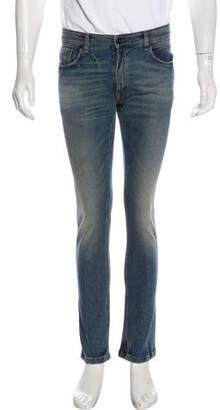 Fendi Distressed Skinny Jeans