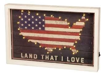 PRIMITIVES BY KATHY Land I Love LED Box Sign