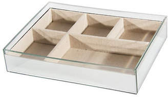 HBC HOME DETAILS Glass Jewellery Tray