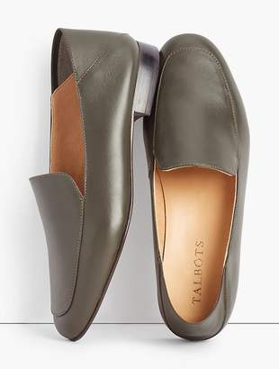 Talbots Cassidy Leather Collapsible Flats - Nappa