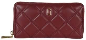 Marc Jacobs Quilted Zip-around Wallet