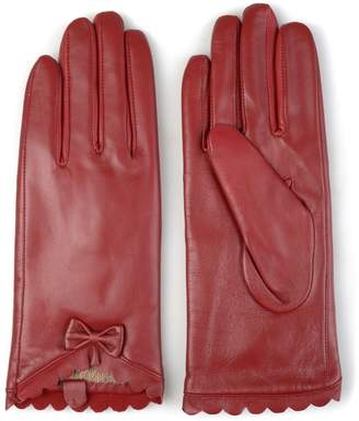 Journee Collection Women's Leather Wool Lined Gloves