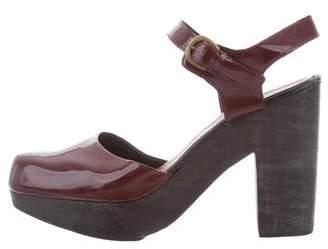 Rachel Comey Round-Toe Ankle Strap Pumps