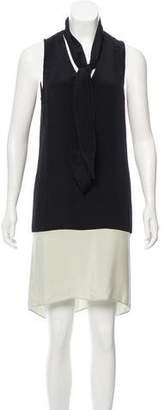 Derek Lam Sleeveless Silk Dress