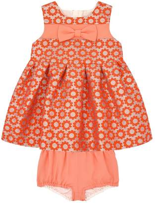 Hucklebones Jacquard Dress with Bloomers