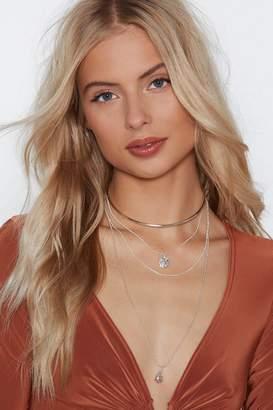 Nasty Gal A Girl's Got Layered Choker Necklace