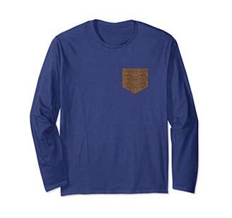 Leopard Pocket Cheetah Print long sleeve T-shirt